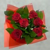 6 red rose gift box